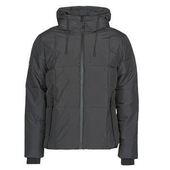 material Men Duffel coats Superdry EVOLUTION PUFFER Black