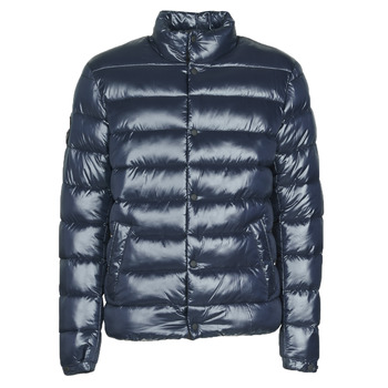 material Men Duffel coats Superdry HIGH SHINE QUILTED PUFFER Blue