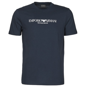 material Men short-sleeved t-shirts Emporio Armani 8N1T61 Marine