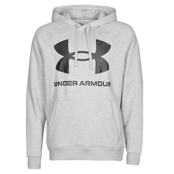 material Men sweaters Under Armour UA RIVAL FLEECE BIG LOGO HD Grey / Clear