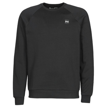 material Men sweaters Under Armour UA RIVAL FLEECE CREW Black