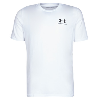 material Men short-sleeved t-shirts Under Armour SPORTSTYLE LEFT CHEST SS White