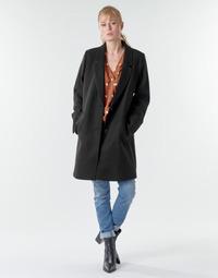 material Women coats Esprit LL* BASICBLZRCT Black