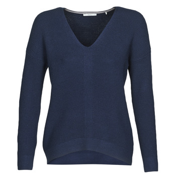 material Women jumpers Esprit OSN V-NECK-SW Blue