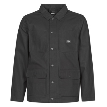 material Men Blouses Vans DRILL CHORE COAT LINED Black