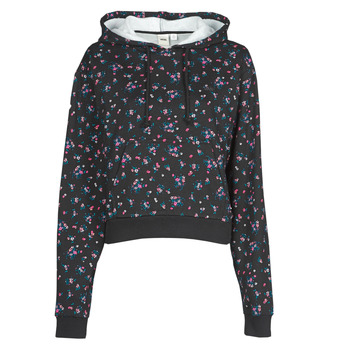 material Women sweaters Vans BEAUTY FLORAL HOODIE Black