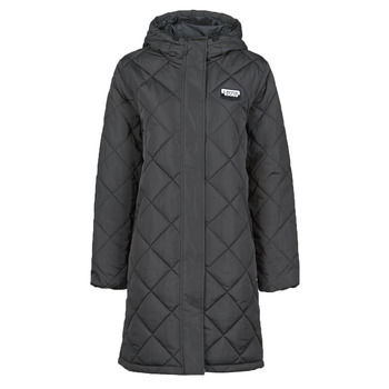 material Women Duffel coats Vans CLAIR SHORES PUFFER JACKET MTE Black