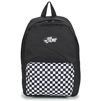 Bags Rucksacks Vans NEW SKOOL BACKPACK Black