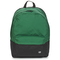 Bags Rucksacks Vans OLD SKOOL PLUS II BACKPACK Green / Black