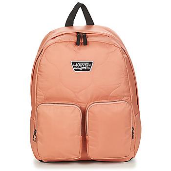 Bags Women Rucksacks Vans LONG HAUL BACKPACK Pink