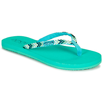 Shoes Women Flip flops Cool shoe SPACE TRIP Blue