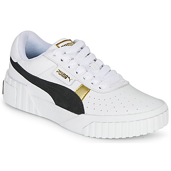 Shoes Women Low top trainers Puma CALI VARSITY White / Black