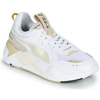 Shoes Women Low top trainers Puma RS-X MONO METAL White / Gold
