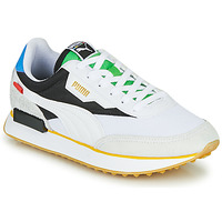 Shoes Low top trainers Puma FUTURE RIDER Unity Collection White / Black