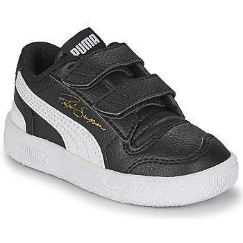 Shoes Children Low top trainers Puma RALPH SAMPSON LO INF Black / White