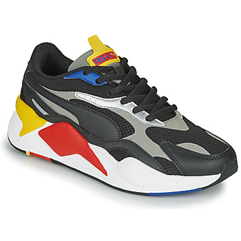 Shoes Low top trainers Puma RS-X3 Black / Red / Yellow