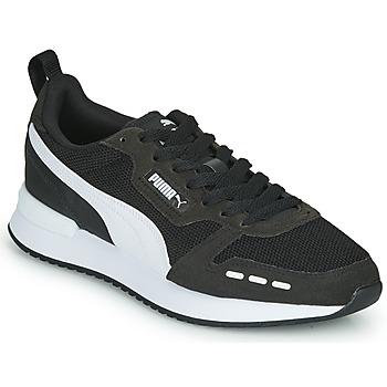 Shoes Men Low top trainers Puma R78 Black
