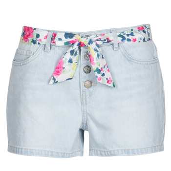 material Women Shorts / Bermudas Only ONLQAMY Blue / Clear