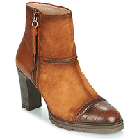 Shoes Women Ankle boots Hispanitas ATLASSE Brown