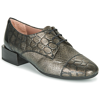 Shoes Women Derby shoes Hispanitas ANETO Silver / Black