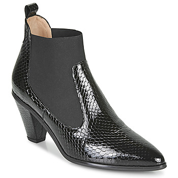 Shoes Women Ankle boots Hispanitas OLIMPO Black