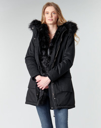 material Women Parkas Betty London NIETTE Black