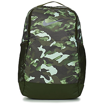 Bags Rucksacks Nike BRSLA M BKPK - 9.0 AOP2 White / Sequoia / Metallic / Cool / Grey