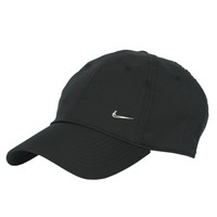 Accessorie Caps Nike U NSW H86 METAL SWOOSH CAP Black / Silver