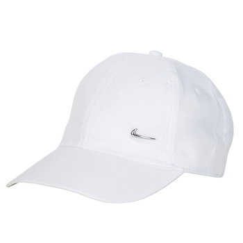 Accessorie Caps Nike U NSW H86 METAL SWOOSH CAP White / Silver