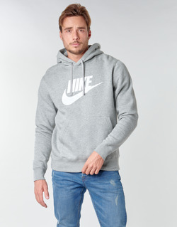 material Men sweaters Nike M NSW CLUB HOODIE PO BB GX Grey