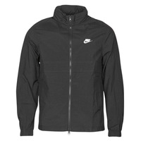 material Men Jackets Nike M NSW CE TRK JKT WVN Black / White