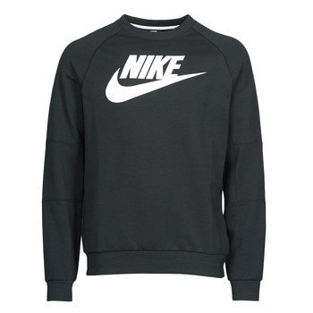 material Men sweaters Nike M NSW MODERN CRW FLC HBR Black / White