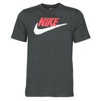 material Men short-sleeved t-shirts Nike M NSW TEE BRAND MARK Black