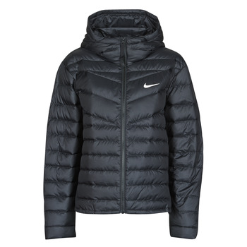 material Women Duffel coats Nike W NSW WR LT WT DWN JKT Black
