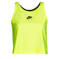 material Women Tops / Sleeveless T-shirts Nike W NK AIR TANK Yellow