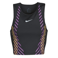 material Women Tops / Sleeveless T-shirts Nike W NK TOP RUNWAY GX Black