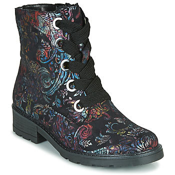 Shoes Women Mid boots Ara DOVER-STF Black / Multicolour
