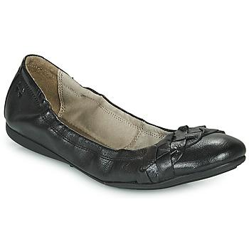 Shoes Women Ballerinas Dream in Green NERLINGO Black