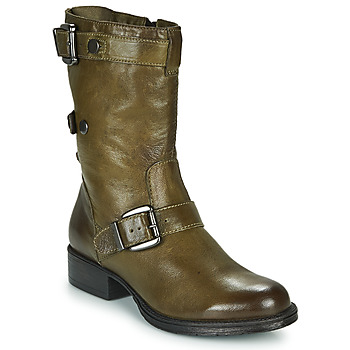 Shoes Women Mid boots Dream in Green NARAMEL Grey