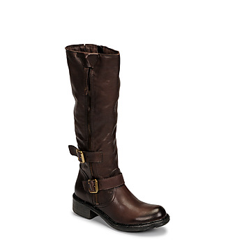 Shoes Women Boots Dream in Green NUCETTE Brown