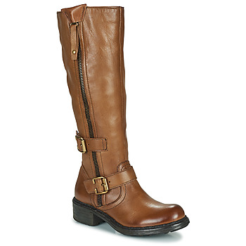 Shoes Women Boots Dream in Green NUCETTE Camel
