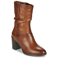 Shoes Women Boots Dream in Green NORGE Camel
