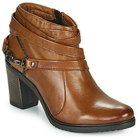 Shoes Women Low boots Dream in Green NEGUS Camel