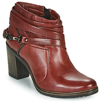 Shoes Women Low boots Dream in Green NEGUS Bordeaux