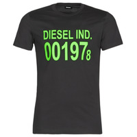 material Men short-sleeved t-shirts Diesel T-DIEGO Black