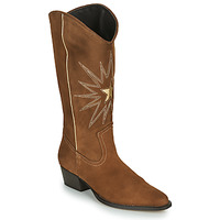 Shoes Women Boots Fericelli NISCOME Camel / Gold