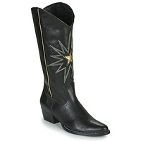 Shoes Women Boots Fericelli NISCOME Black / Gold