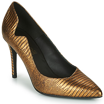 Shoes Women Court shoes Fericelli NANELE Gold