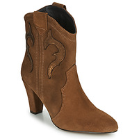 Shoes Women Ankle boots Fericelli NARLOTTE Camel / Gold
