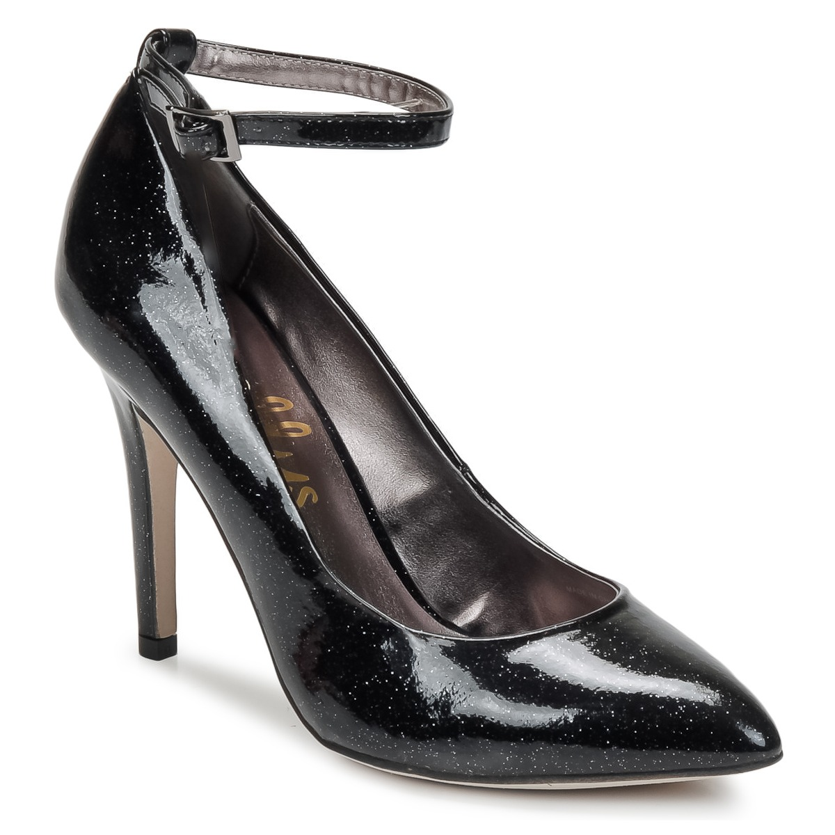 Court-shoes Shellys London STAR Black / GLITTER